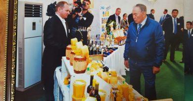На севере Казахстана планируют создать СПК пчеловодов и сеять медоносы